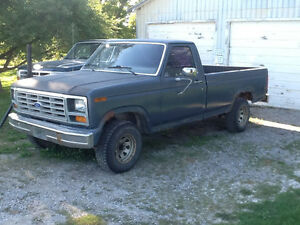 Wanted: 1986 f150 parts