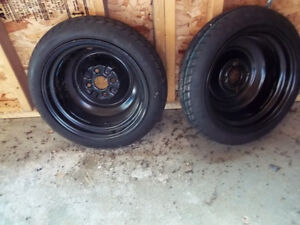 Donut tires-new condition