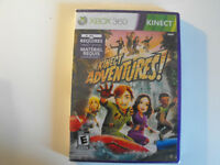 KINECT ADVENTURES  NEW SEALED  GAME