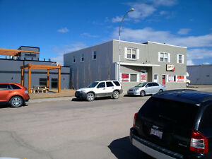 Former Heating Contractor Shop for Lease/Sale Downtown PONOKA