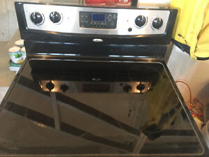 Whirlpool stainless steal flat top stove! $350 OBO