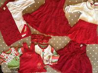 Xmas party wear bundle 3-6 months