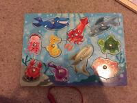 Melissa & Doug fishing puzzle