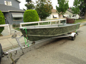 Re-done 14' boat and trailer-also motorsxxBOAT SOLD Have motors