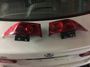 2008 Acura Tsx Tail Lights