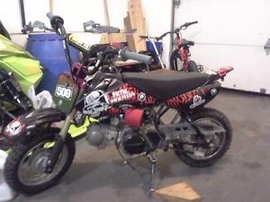 2006 CRF50 pitbike TB 88cc racehead bigbore kit