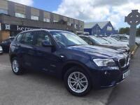 2012 (12) BMW X3 2.0TD xDrive20d SE Diesel Leather Sat Nav 1 Previous Owner FSH