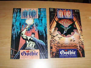 LEGENDS OF THE DARK KNIGHT-2 ISSUES-1990-DC COMICS-BATMAN