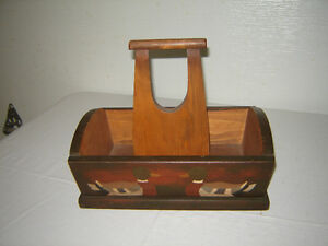 Painted tool or trinkets carrier