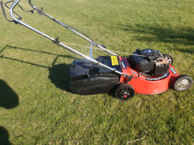 Rover self-propelled mower.