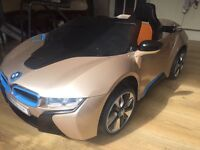 Bmw i8 Ride On Electric children's Car MP3 Music Sounds with Controll
