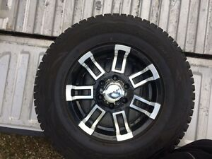 Rims and tire for Chevy and gmc blizzak snow tire