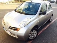 2004 NISSAN MICRA S 1.2 ONLY *****48K MILEAGE ***** LONG MOT 9 STAMP FULL HISTORY (lt54fzr)