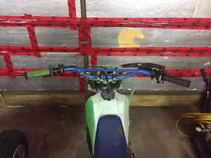 Kawasaki kx 80 $1000 or trade for a smaller bike of same value Kingston Kingston Area image 5