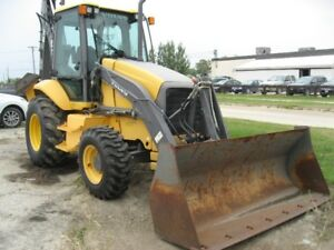 2007 VOVLVO BL70 BACKHOE WITH RIDE CONTROL