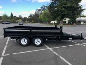 FROM $379 P/MONTH ON FINANCE* 12X7 FLATBED TANDEM TIPPER - 3.5 t Coburg Moreland Area Preview
