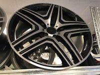 "Set of 4 22"" Mercedes g wagon sprinter alloy wheels alloys rims 5x130"