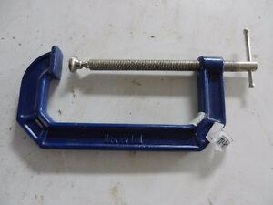 """Irwin 9"""" C clamps"""