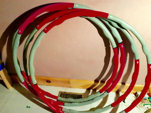 4 - Hula Hoops - Northern Lights 3 LB Weighted Hula Hoop