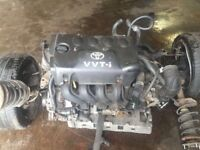 1999-2005 TOYOTA YARIS 1.5 VVTi 1NZ-FE ENGINE COMPLETE WITH ANCILLARIES 60,000 MILEAGE WITH WARRANTY