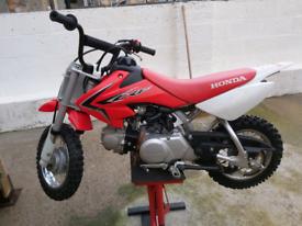 Honda crf50 like new