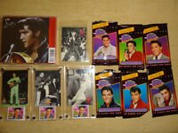 Elvis Presley memorabilia: gift bags, collector cards, etc