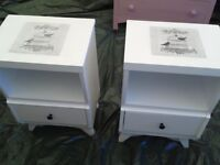 Two Matching Bedside Tables SOLD PENDING PICKUP
