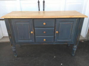 Refinished shabby chic  chalk paint sideboard