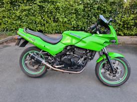 Kawasaki ninja gpz 500 twin exhaust