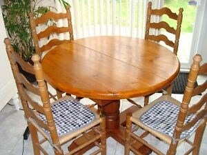round pedestal table kijiji free classifieds in ontario find a job