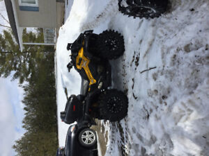 Can Am xmr1000 trade for renegade