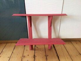 Shelf unit (wall mounted)