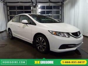 2013 Honda Civic EX TOIT CAMÉRA BLUETOOTH SIEGES CHAUFFANTS