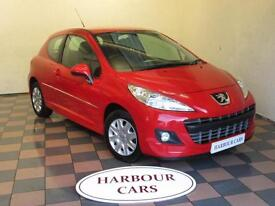 2012 Peugeot 207 1.4 HDi 70 Active, 1 Previous Owner, 49,000 Miles, £20 Road Tax