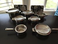 12 pc Rhyno cookware set