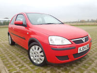 Vauxhall/Opel Corsa 1.0i 12v 2004MY Active, Ideal Car For New Drivers.