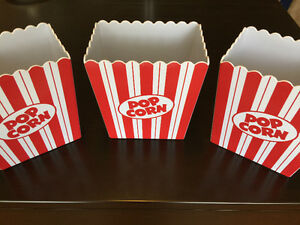 Movie Syle Popcorn Holders Kitchener / Waterloo Kitchener Area image 1