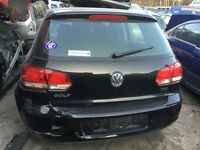 Vw golf mk6 1.6 tdi cay breaking for spares 09-12
