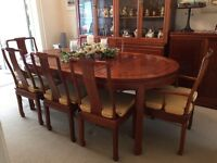 Rosewood dinning room suite