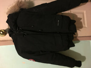 Used Canada Goose bomber jacket in a womens small