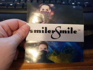 Smiler Smile Facemask for Cycling etc. - NEW