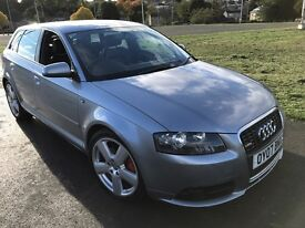 AUDI A3 S LINE QURTTRO 2.0 diesel (2007 years ) very good condition but