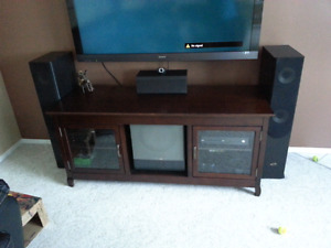 Home theatre stand and complete home theatre package.
