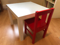 IKEA Children's table & chair
