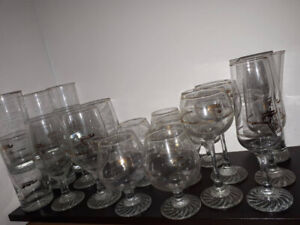 Vintage Canadian Olympic Drinking Glasses