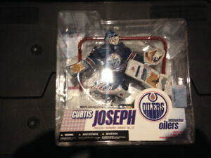 McFarlane NHL Hockey Curtis Joseph Goalie Figure