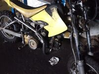 110cc semi automatic pit bike
