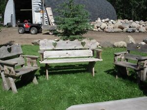 CEDAR LAWN FURNITURE