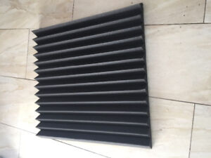 Studio foam Hybrid or Acoustic Square Tiles and Bass Traps
