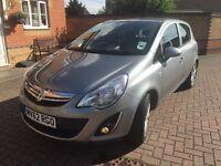 Vauxhall Corsa. Ecoflex 1,3 Diesel. 2012 reg 47000miles £30 year TAX